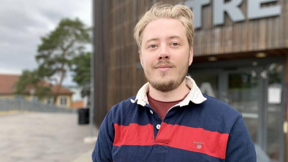 Christopher Hellryd är Blekinge Studentkårs nya ordförande.