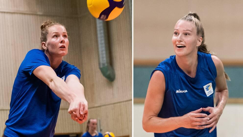 Isabelle Haak och Dalila-Lilly Topic är några av de svenska utlandsproffsen.