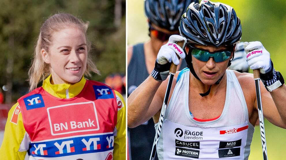 Marte Skaanes slog Marit Björgen och co i Toppidrettsveckan.