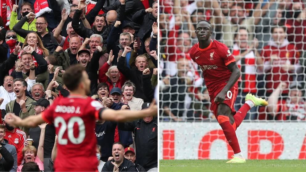 Liverpool besegrade Burnley.