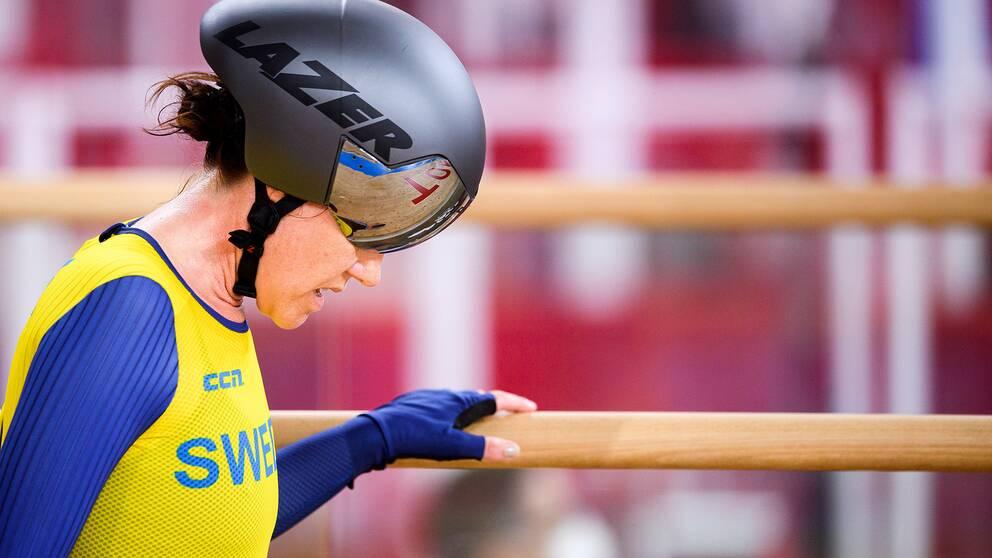 Det blev ingen final för Anna Beck i Paralympics-debuten.