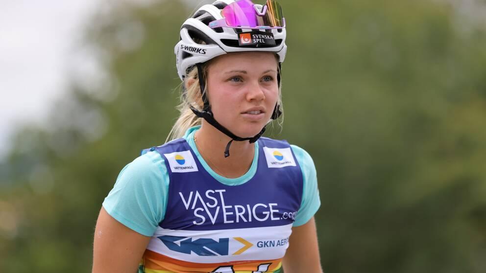 Emma Ribom krossade allt och alla under tre dagar i Trollhättan.