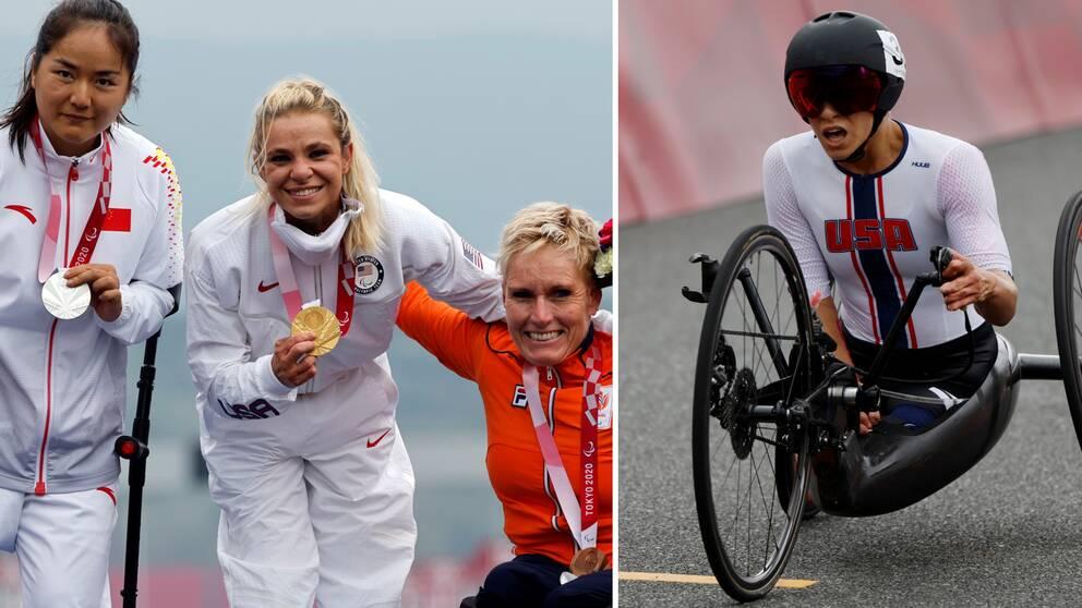Konditionsfenomenet Oksana Masters är paralympisk mästare igen.