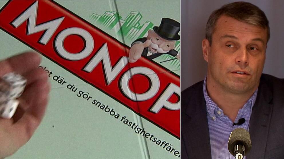 Daniel Kindberg, Monopolspel.