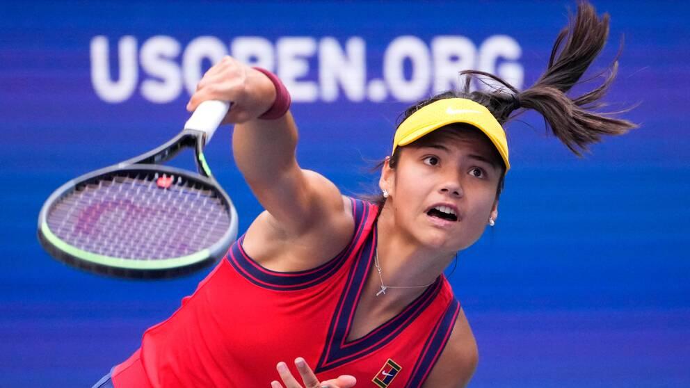 Brittiskan Emma Raducanu är nästa tonåring till kvartsfinal i US Open.