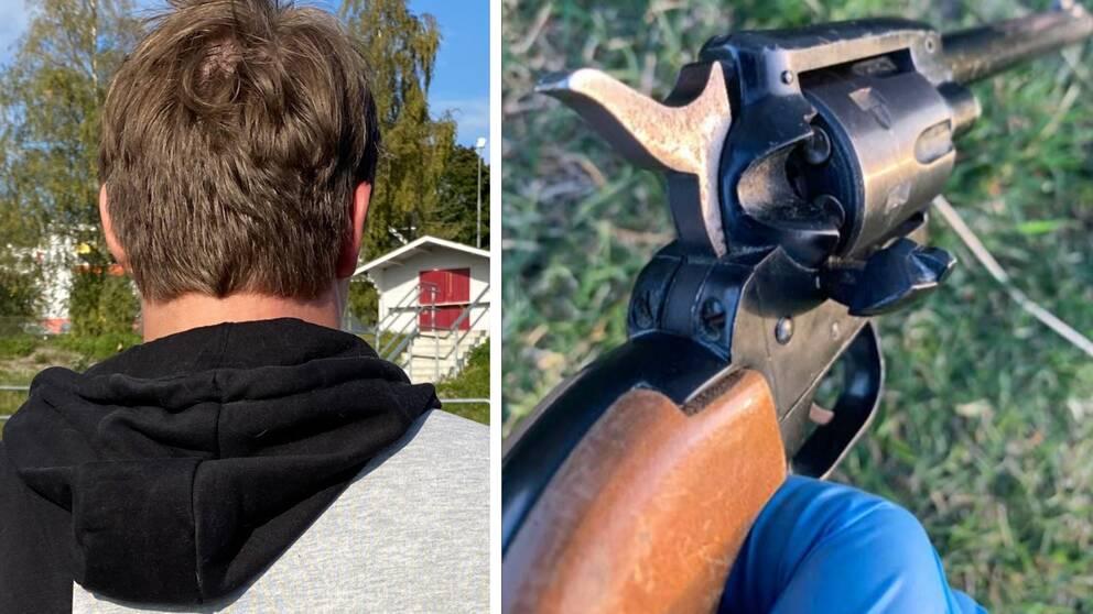 """""""Fredrik"""" bevittnade skjutningen i Kramfors."""