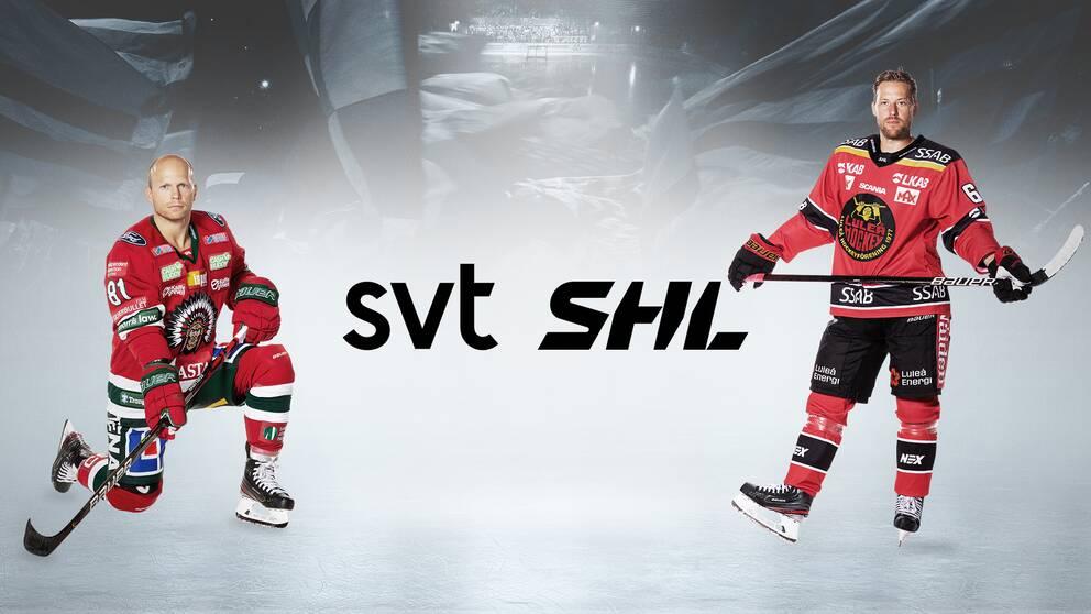 SVT skruvar upp hockeybevakningenmed ett nytt hockeyprogram.