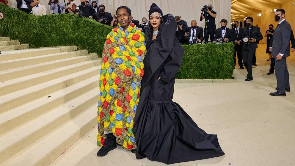 A$AP Rocky och Rihanna.