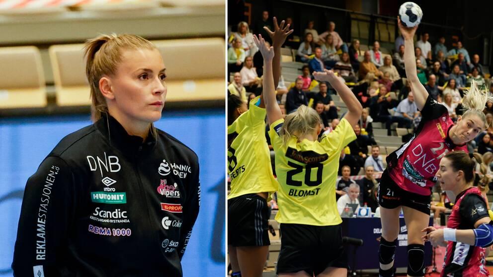 Isabelle Gulldén och Vipers Kristiansand slog Sävehof.
