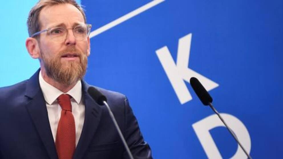 Jakob Forssmed, KD:s ekonomiskpolitiske talesperson.