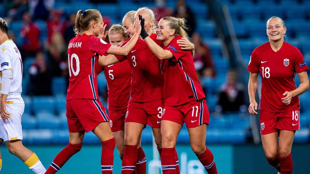 Norge leder sin VM-kvalgrupp.