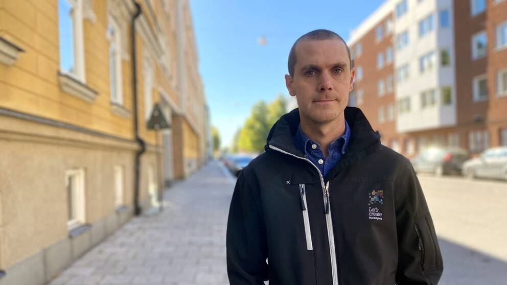 Magnus Sandberg trafikplanerare vid Norrköpings kommun