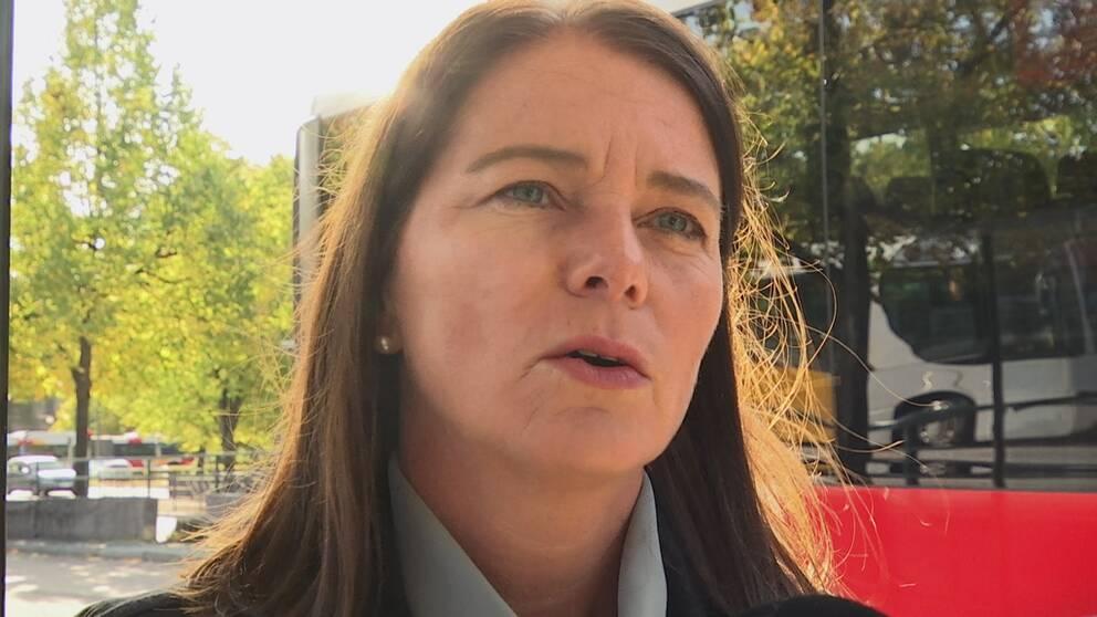 Eva Jylltorp, kommunikationschef på Östgötatrafiken