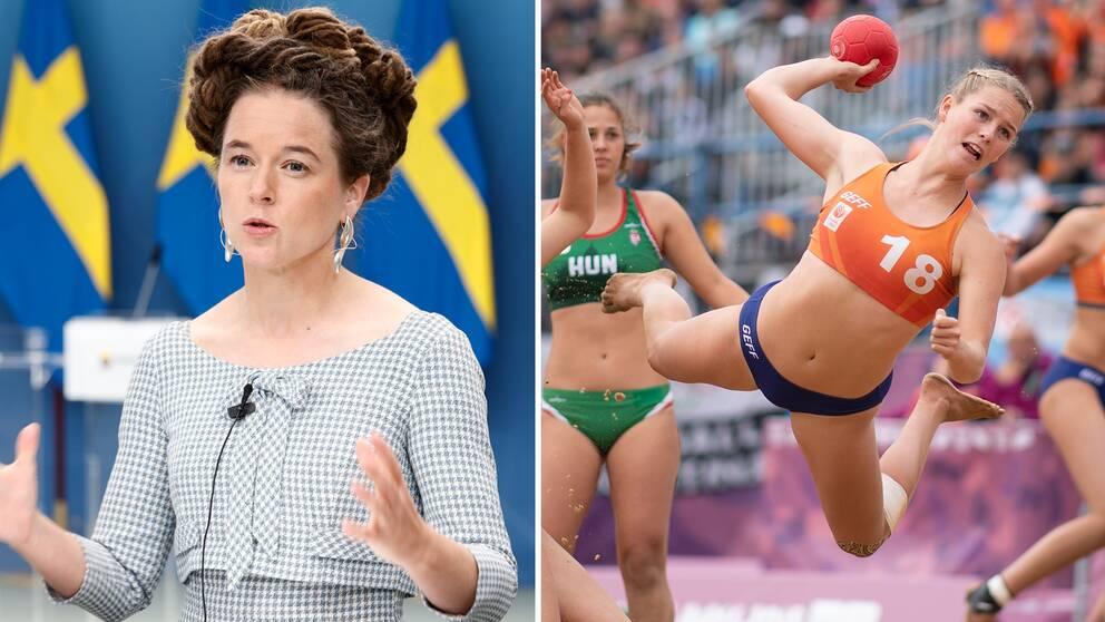 Ministrarna kräver att man ska slopa bikinitvånget.