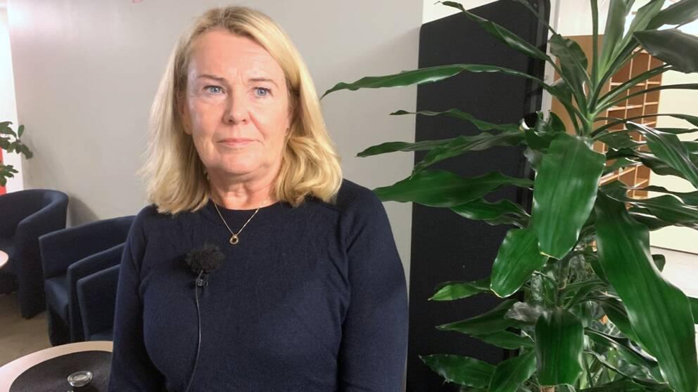 Christina Bengtsson, enhetschef på placeringsenheten på Halmstads kommun.