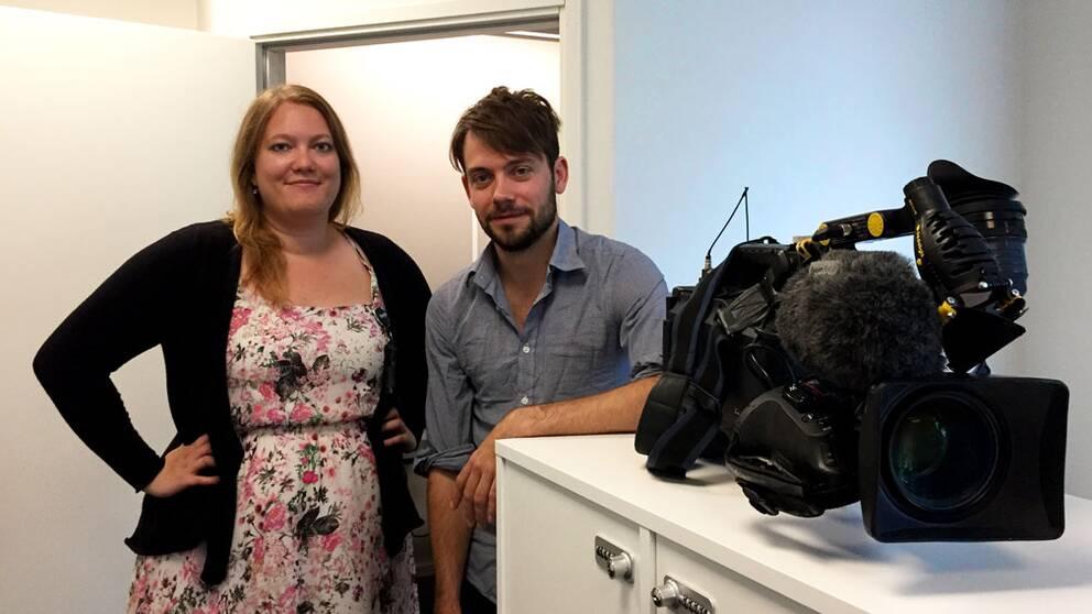 Erika Larsson och Per-Olof Stjärnered är SVT:s reportrar på plats i Borås.
