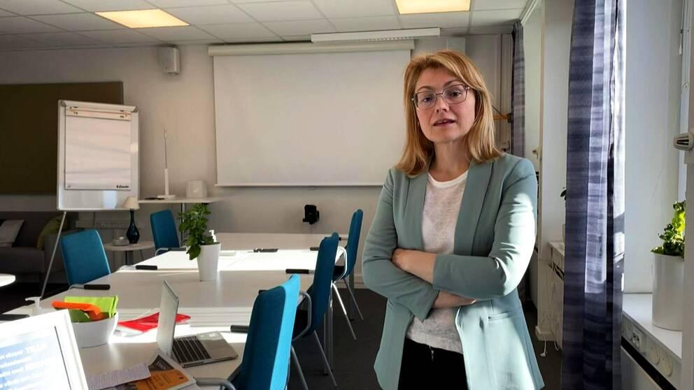 Gabriela Arvidsson, myndighetschef hemvårdsförvaltningen halmstad