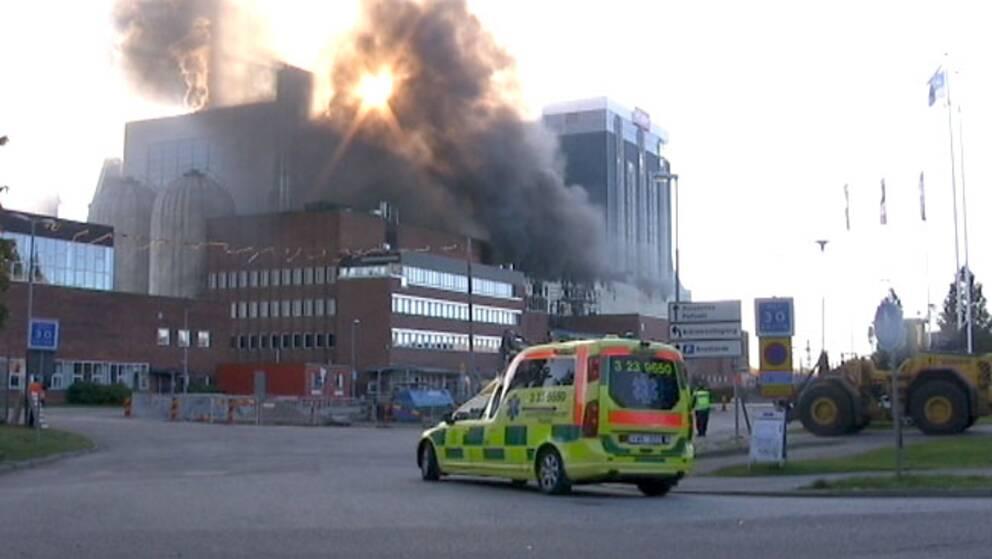 Brand i Åbyverket