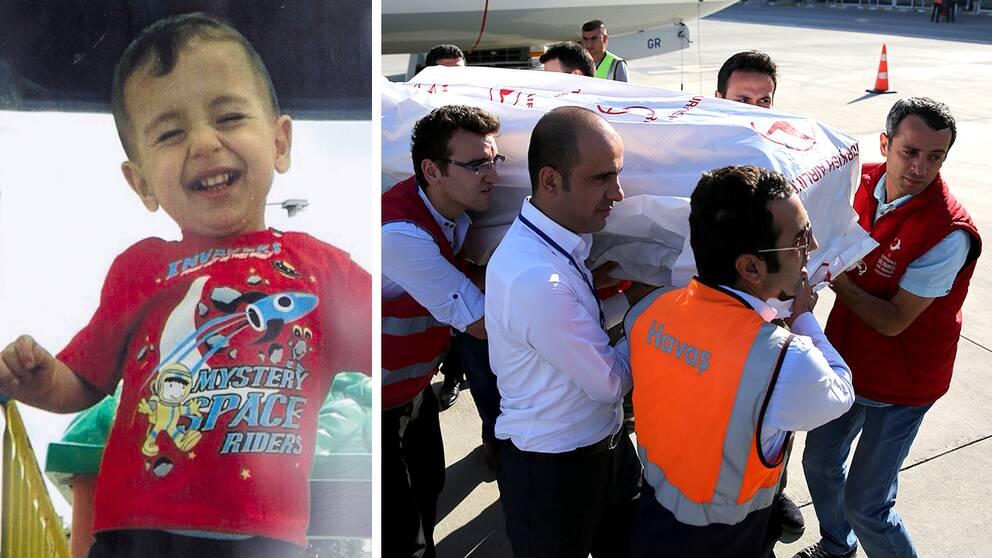 Bilden på den döde treårige syriske pojken som spolades upp på en strand i Turkiet har blivit en symbol för flyktingkrisen.
