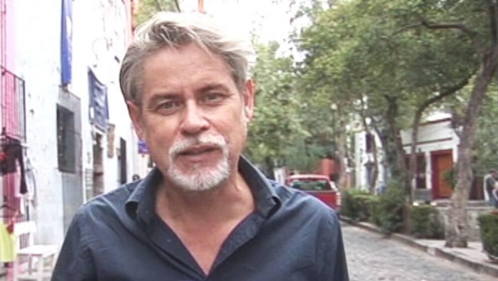 Bosse Lindwall, SVT:s korrespondent.