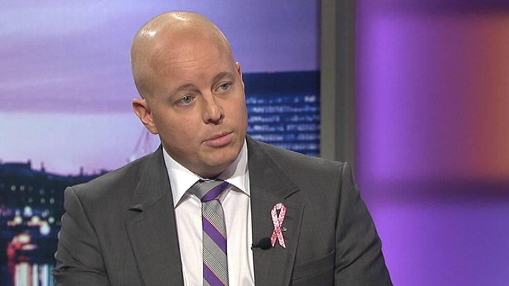 Sverigedemokraternas partisekreterare Björn Söder.