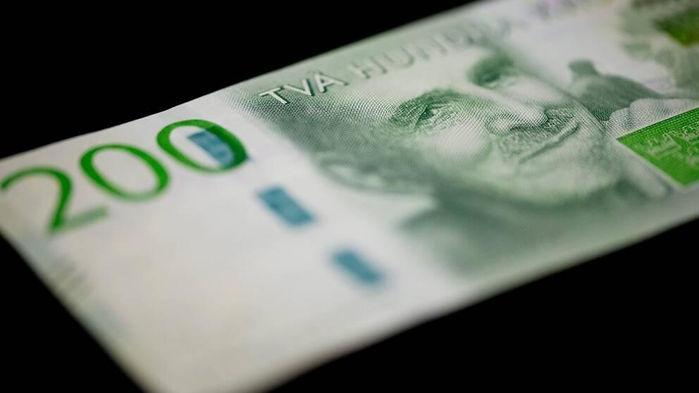 Ingmar Bergman på den nya 200-kronorssedeln.