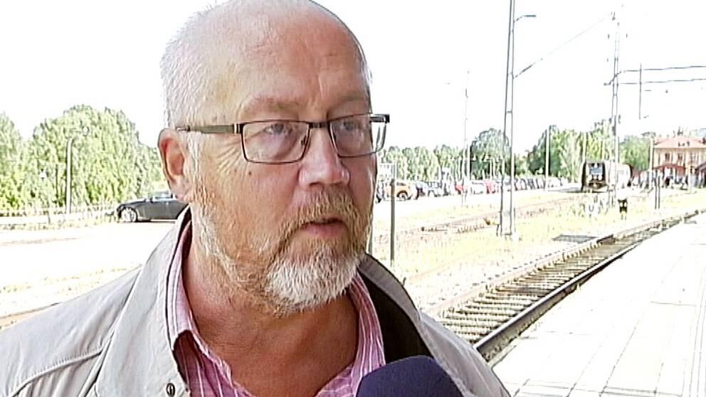 Göran Gunnarsson (C), ordföranden i region Östergötlands trafiknämnd