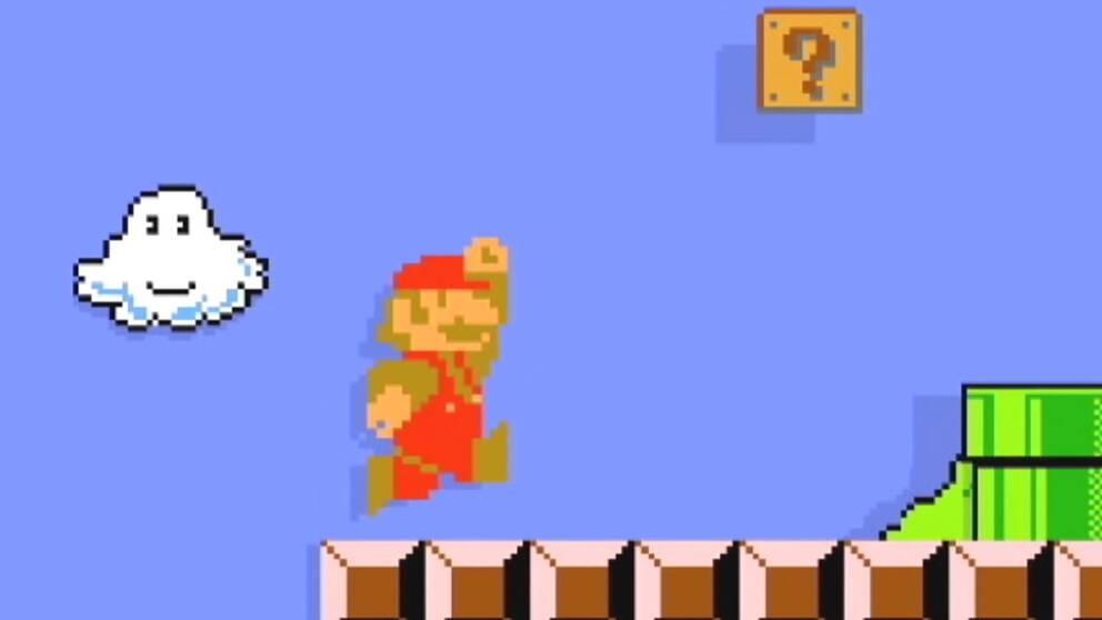 """I """"Super Mario Maker"""" kan spelarna själva bygga banor till flera av den glade rörmokarens spelklassiker."""