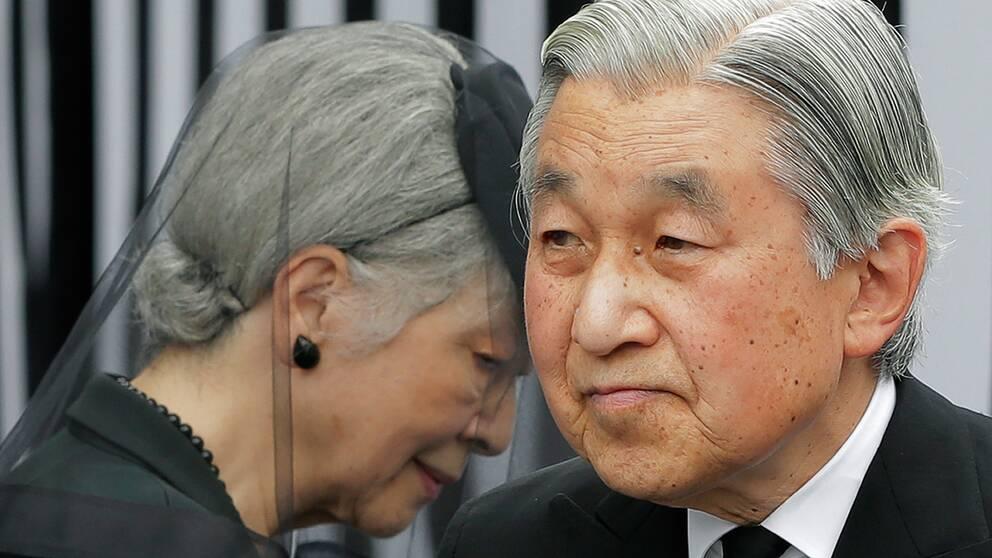 Japans kejsarpar har fortfarande långt kvar till 100