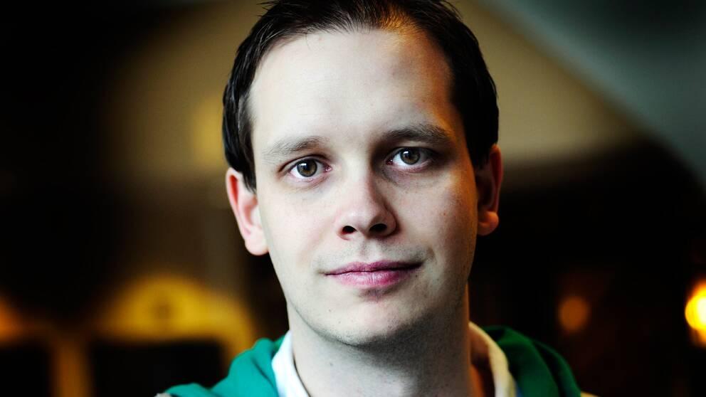 Peter Sunde, före detta talesman för webbplatsen The Pirate Bay. Foto: Yvonne Åsell/Scanpix