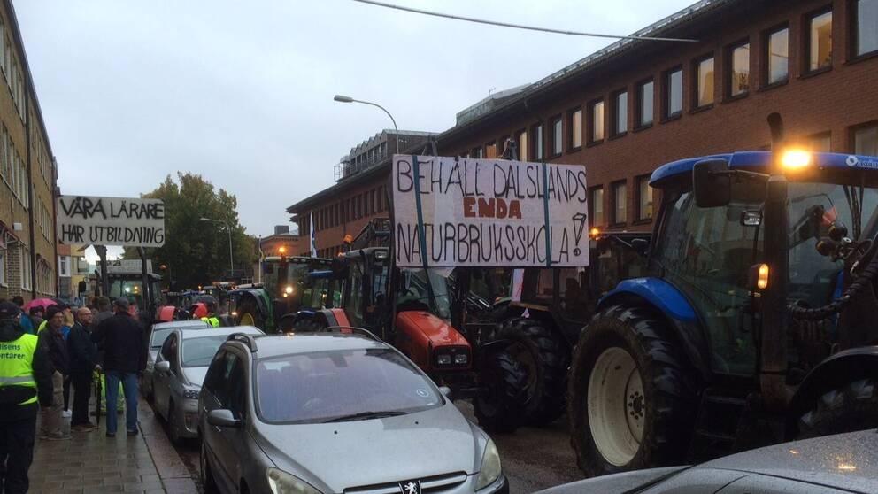 Demonstraion naturbruksskola