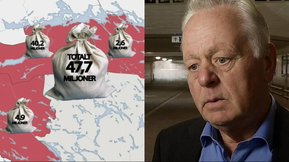 """""""Vi får se till att vara attraktiva så att man flyttar till Katrineholm"""", säger kommunstyrelsens ordförande Göran Dahlström (S)."""