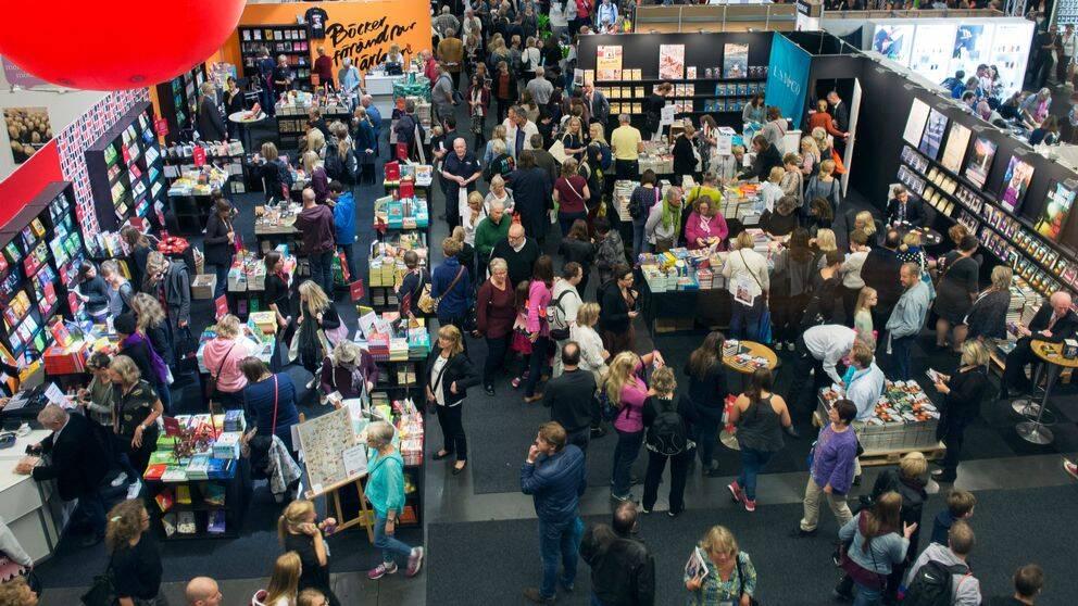 Bokmässan i Göteborg lockar årligen runt 100.000 besökare.