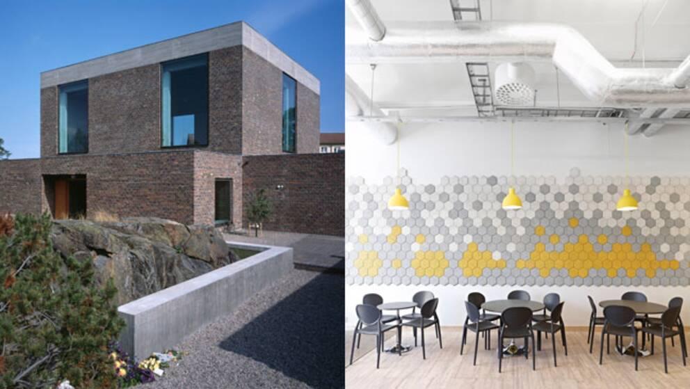 5f9677b30476 Nominerade till arkitekturpris: Årsta kyrka och interiör på Stadsmissionens  skola i Liljeholmen.