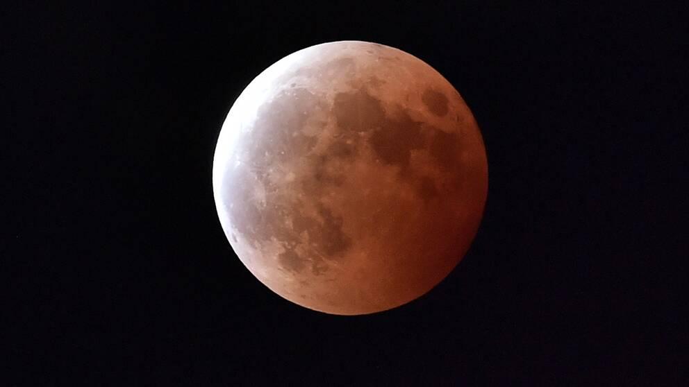 En tidigare månförmörkelse.