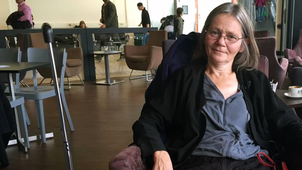 Kajsa Öberg-Lindsten har översatt tre av Svetlana Aleksijevitjs fem böcker till svenska.