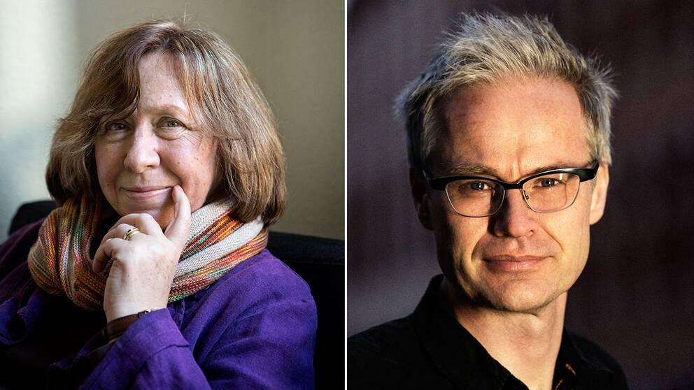 Dåvarande kulturredaktören Gabriel Byström jobbade nära Svetlana Aleksijevitj på GP och beskriver henne som en av världens viktigaste intellektuella.