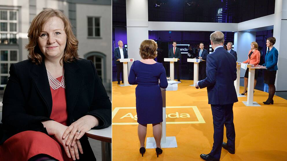 Retorikexperten Lena Lid Falkman vill se mer empati från politikerna.