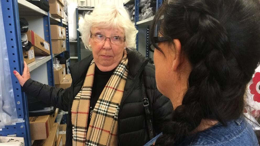 Kerstin Gadd-Karlsson från Växjö kommun pensionärsråd är besviken över att kommunen inte låtit pensionärsrådet vara med och påverka i beslutsprocessen.