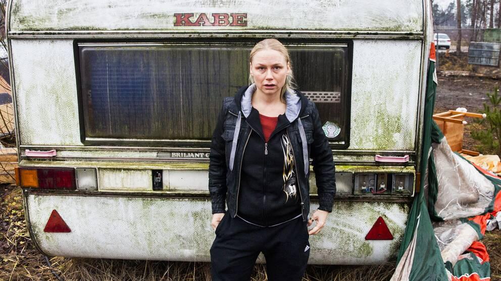 "Malin Levanon spelar knarklangare i ""Tjuvheder""."