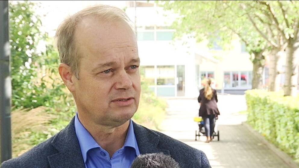 Hans Forsberg (M), kommunstyrelsens ordförande i Kungsbacka kommun.