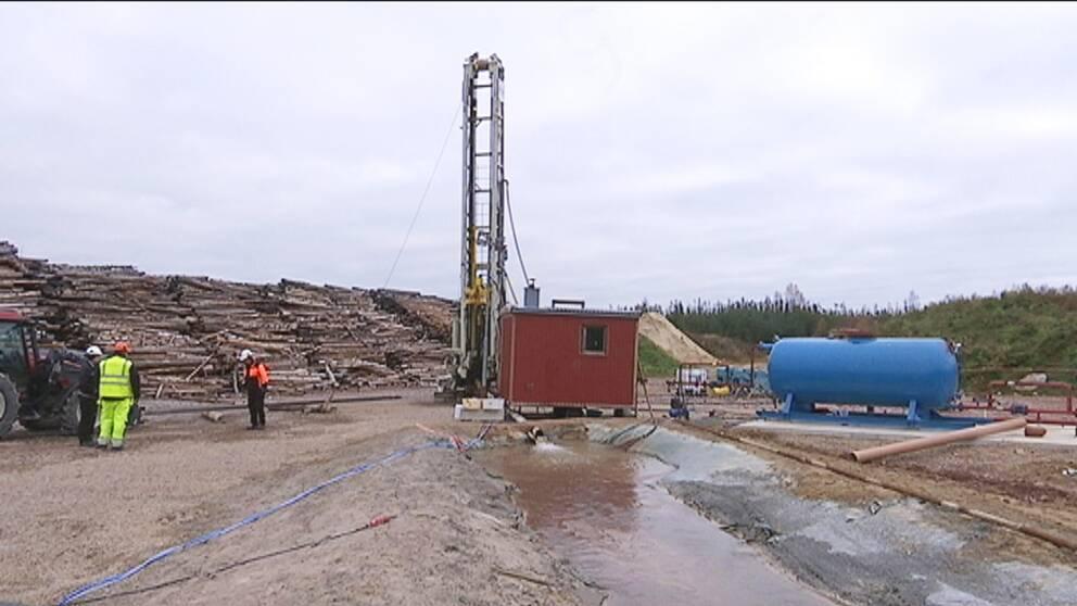 Ja till att borra efter naturgas