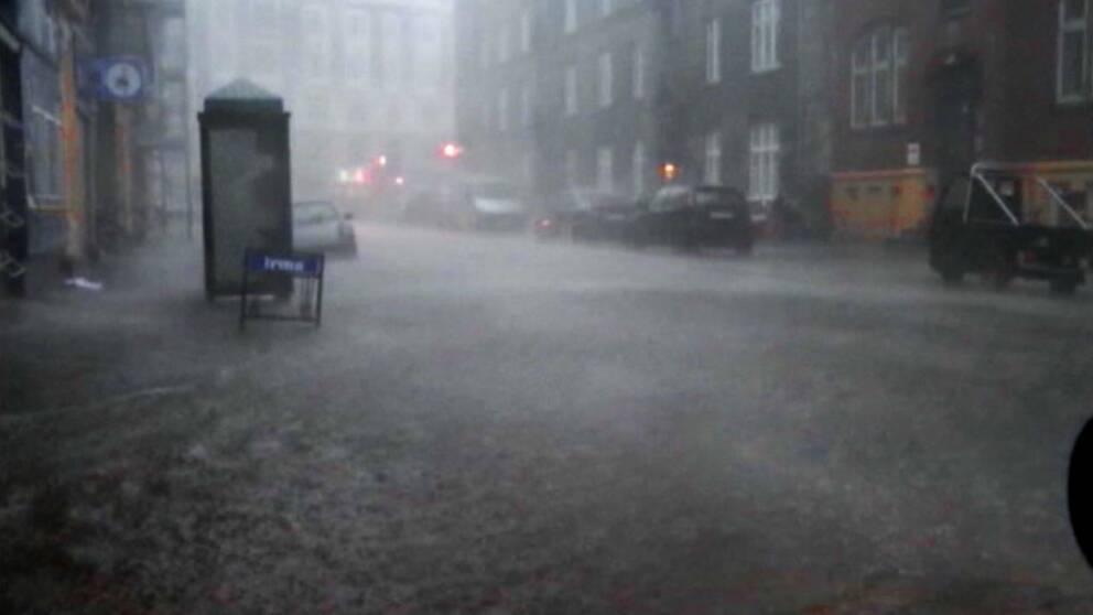 Göteborg förbereder sig för extrema skyfall.