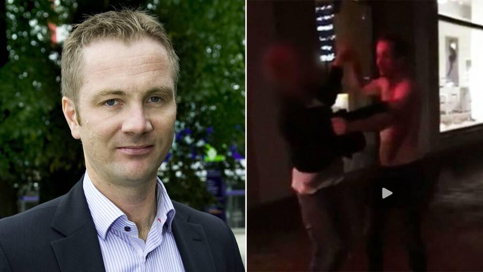 När det stod klart att han skulle åtalas var Evertsson själv fåordig i sina kommentarer till SVT.