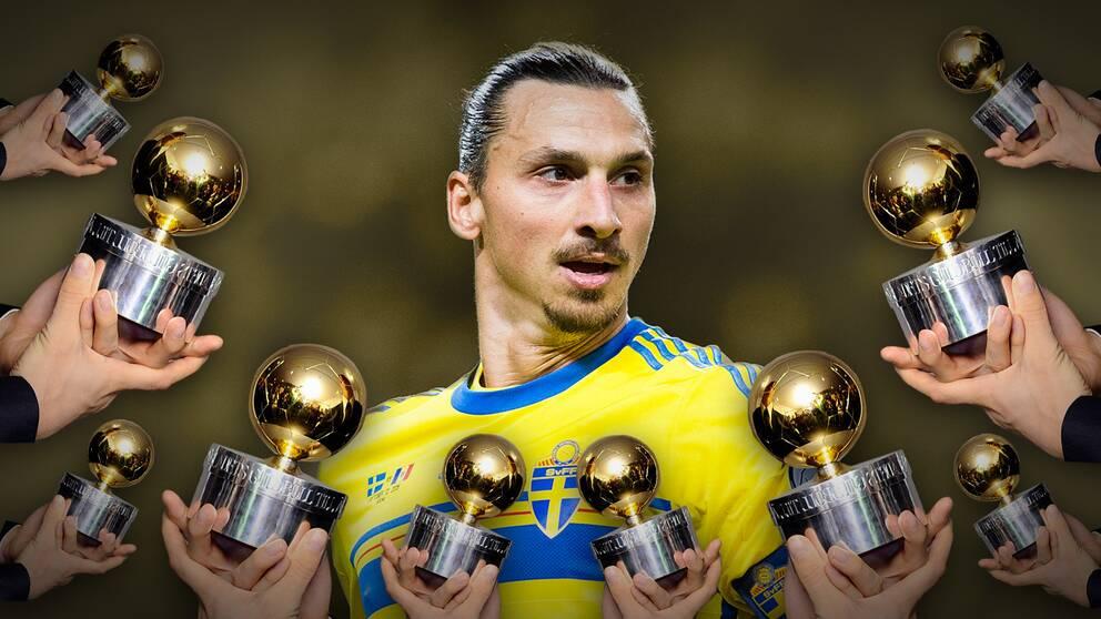 Zlatan kan vinna guldbollen