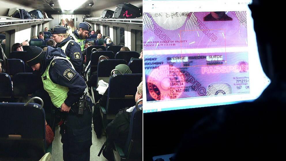 Flera personer misstänks ha flugits till Kastrup för att sedan föras med tåg till Sverige.