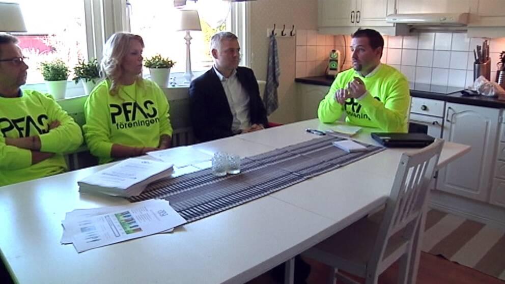 PFAS-föreningen vill ha ekonomisk ersättning av det kommunala vattenbolaget.