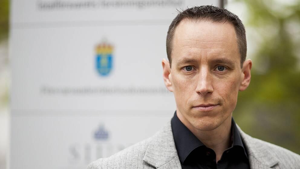 Fredrik Westerlund, forskningsledare vid Försvarets forskningsinstitut (FOI).