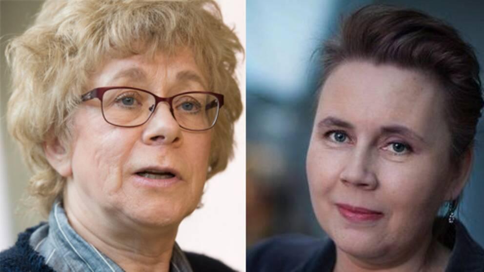 Boel Westin och Ulrika Milles.