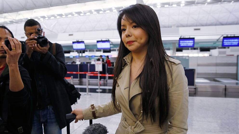 Miss World-deltagaren Anastasia Lin får inte delta i tävlingen i Kina.